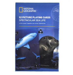 Spectacular Sea Life - National Geographic 52 Picture Playing Cards Thumbnail 1