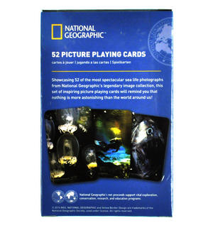 Spectacular Sea Life - National Geographic 52 Picture Playing Cards Thumbnail 2