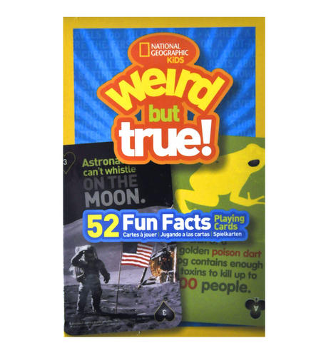 Weird But True - National Geographic 52 Picture Playing Cards