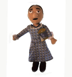 Virginia Woolf Soft Toy - Little Thinkers Doll Thumbnail 1