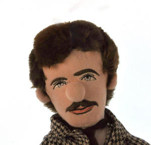 Nikola Tesla Soft Toy  - Little Thinkers Doll Thumbnail 1