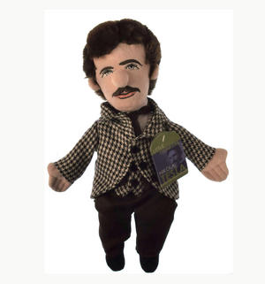 Nikola Tesla Soft Toy  - Little Thinkers Doll Thumbnail 2