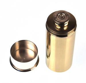12 Gauge Cartridge Flask - 4 Fluid Ounces Thumbnail 6