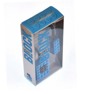 Block Light - Blue -  The Building Block Book Light Thumbnail 2