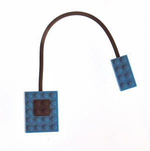 Block Light - Blue -  The Building Block Book Light Thumbnail 3
