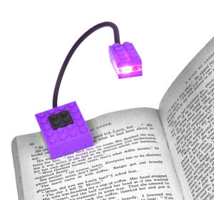Block Light - Purple -  The Building Block Book Light Thumbnail 2