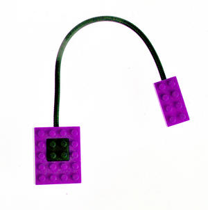 Block Light - Purple -  The Building Block Book Light Thumbnail 4