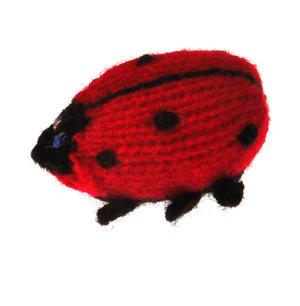 Ladybird - Handmade Finger Puppet from Peru Thumbnail 1
