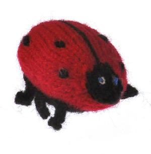 Ladybird - Handmade Finger Puppet from Peru Thumbnail 2