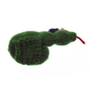 Snake - Handmade Finger Puppet from Peru - Random Colours Thumbnail 3