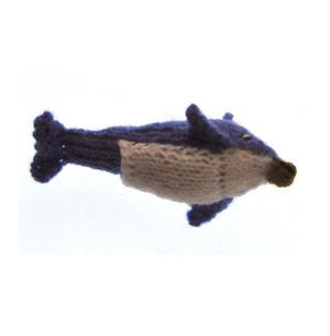 Dolphin - Handmade Finger Puppet from Peru Thumbnail 2