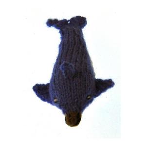Dolphin - Handmade Finger Puppet from Peru Thumbnail 3