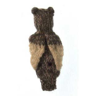 Owl - Handmade Finger Puppet from Peru Thumbnail 2