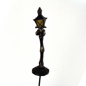 Fairy Lamp Post - Fiddlehead Fairy Garden Collection Thumbnail 1