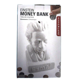 Albert Einstein Ceramic Money Box Thumbnail 5