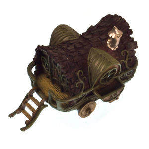 Gypsy Wagon Fairy Home - Fiddlehead Fairy Garden Collection Thumbnail 5