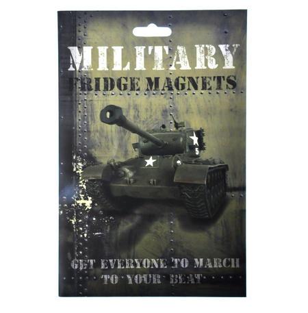Military Fridge Magnet Set - Army Font Fridge Poetry