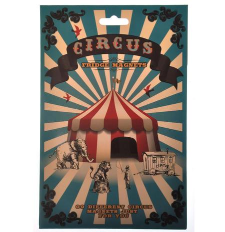 Circus Fridge Magnet Set - Big Top Font Fridge Poetry