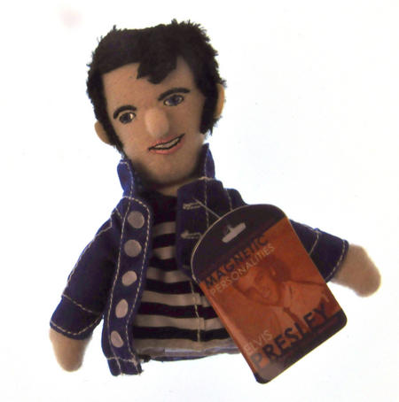 Elvis Presley Finger Puppet & Fridge Magnet