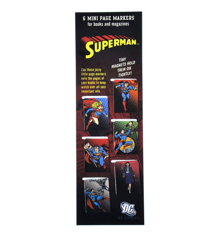 Superman DC Comics Mini Book Marks