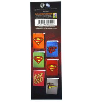 Superman DC Comics Mini Book Marks Thumbnail 2
