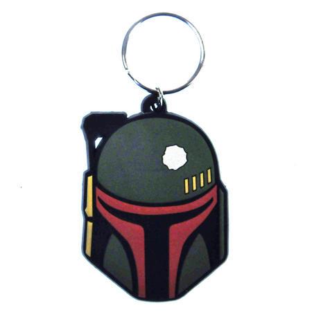 Star Wars Boba Fett  Rubber Keyring