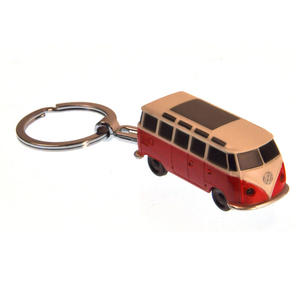 LED Volkswagen Camper Van Torch Key Ring - Random Colours Thumbnail 2