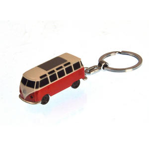 LED Volkswagen Camper Van Torch Key Ring - Random Colours Thumbnail 3