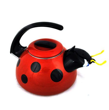 Ladybird - Traditional Whistling Hob Kettle