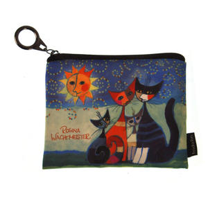 Momenti di felicita / Moments of happiness - Cat Family Make Up Bag designed by Rosina Wachtmeister Thumbnail 1