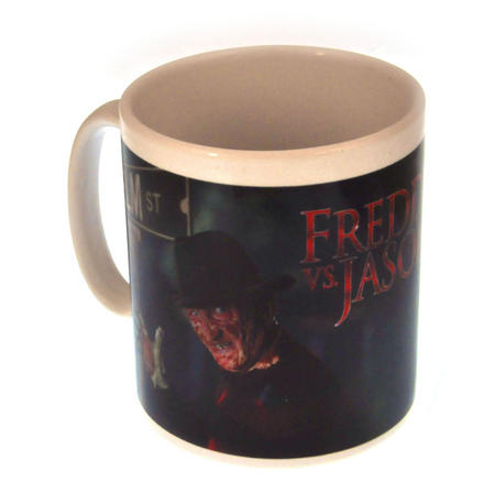 Freddy vs. Jason - Nightmare on Elm Street / Friday the 13th Combo Movie Mug