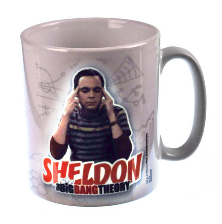 Sheldon Cooper Big Bang Theory Mug
