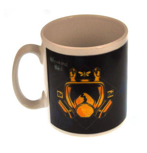 Golden Moth Gasmask Breaking Bad Heisenberg Mug Thumbnail 1