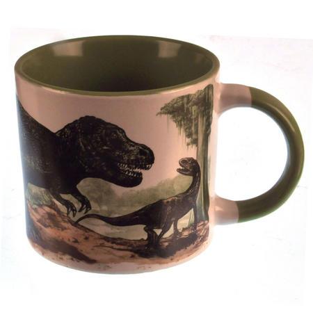 Disappearing Dinosaur - Live to Skeleton Heat Change Mug