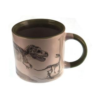 Disappearing Dinosaur - Live to Skeleton Heat Change Mug Thumbnail 5