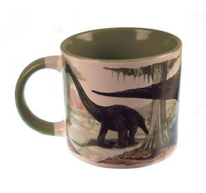 Disappearing Dinosaur - Live to Skeleton Heat Change Mug Thumbnail 7