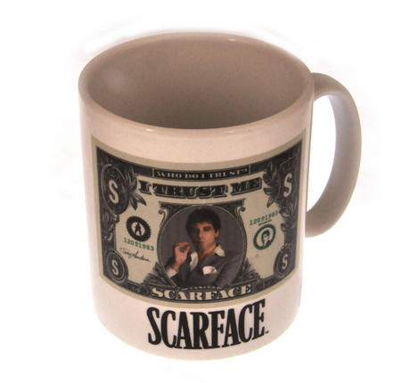 Scarface - I Trust Me Dollar Bill Mug