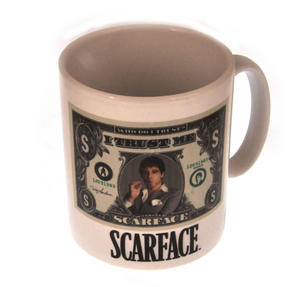 Scarface - I Trust Me Dollar Bill Mug Thumbnail 1