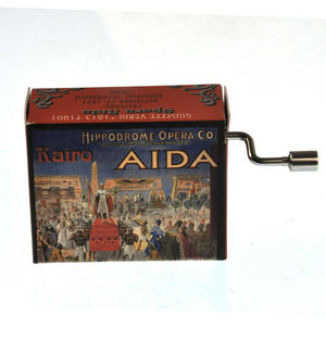 Giuseppe Verdi - Aida Opera Music Box - Triumphal March Thumbnail 1