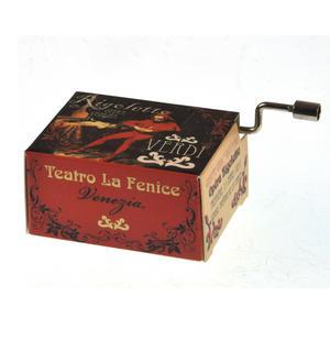 Giuseppe Verdi - Rigoletto Opera Music Box - La Donne e Mobile Thumbnail 2