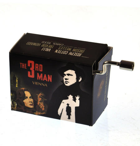 The Third Man Music Box - Zither Spy Theme by Anton Karas
