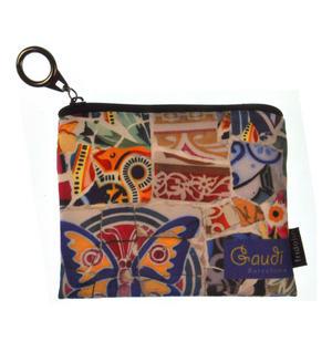 Gaudi Barcelona Mini Zipper Purse Thumbnail 1