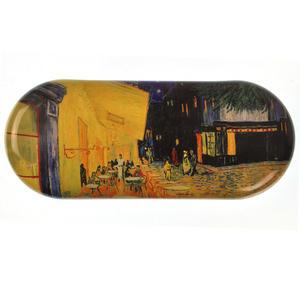 Vincent Van Gogh - Café de nuit  Glasses Case Thumbnail 1