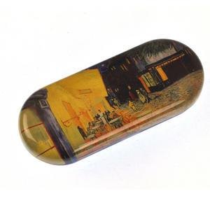 Vincent Van Gogh - Café de nuit  Glasses Case Thumbnail 2
