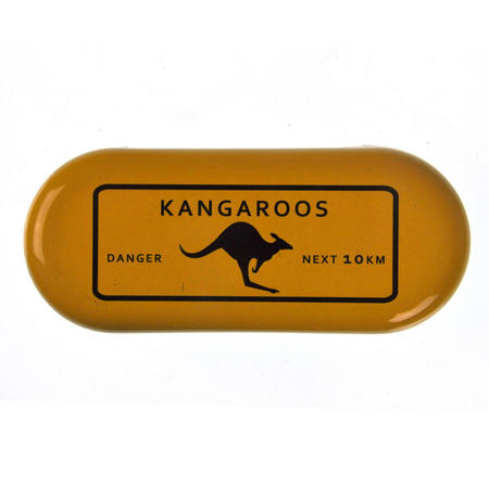 Danger Kangaroos - Next 10km Glasses Case