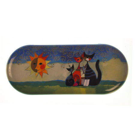 Momenti di felicita / Moments of happiness - Momenti di felicita / Moments of happiness - Cat Family  Glasses Case designed by Rosina Wachtmeister