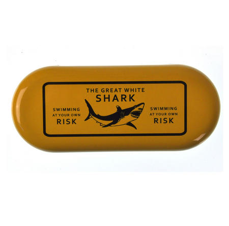 The Great White Shark  - Swimming At Your Own Risk Glasses Case