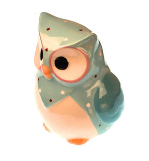 Hand-Painted Owl Money Box Thumbnail 2