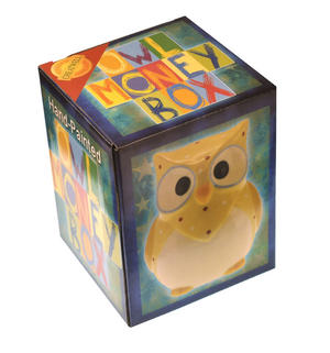 Hand-Painted Owl Money Box Thumbnail 4