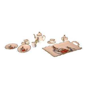 Beatrix Potter Peter Rabbit Dolls' House Porcelain Tea Set Thumbnail 2